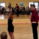 Salsa Performance - Helen & Eugene - En Barranquilla Me Quedo